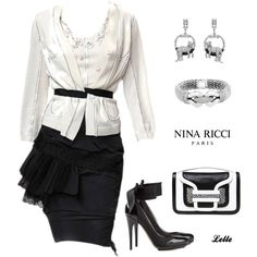 """Nina Ricci edited by Satinee"" by lellelelle on Polyvore"