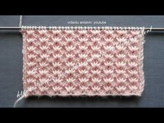 Video tutorial on How To Knit the Alsacian Scallops stitch. This is a exquisite lace stitch and not difficult to knit. ++ For detailed written instructions, ...