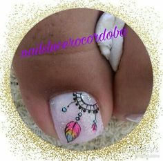 Uñas decoradas Feet Nail Design, Toe Nail Designs, Pedicure Nail Art, Nail Manicure, Love Nails, Pretty Nails, Cat Nail Art, American Nails, Toe Nail Color