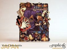1ATC WonderlandHallowe'en in Wonderland by Yumi MuraeadaProduct by Graphic 45
