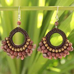 chuleekorn rev crochet earrings
