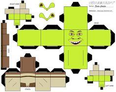 Shrek cubeecraft Recrotable | VLC peque