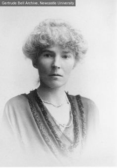 early 20 century portrait of explorer Gertrude Bell
