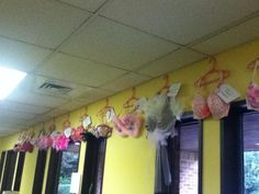 Charlotte Community Health Clinic is participating in the Breast Cancer awareness month by designing some bras! Also every Thursday for the whole month of October, they will be having some pink treats!