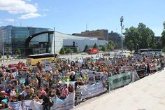 Turkistarhauksen vastainen mielenosoitus Helsingissä 18.6.2013 http://vimeo.com/68675421