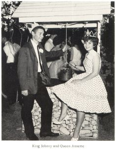 Vintage prom photos, Mississippi 1962