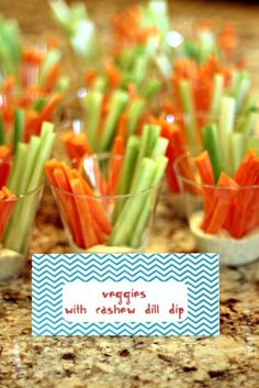 Great healthy snack idea for a party! #food
