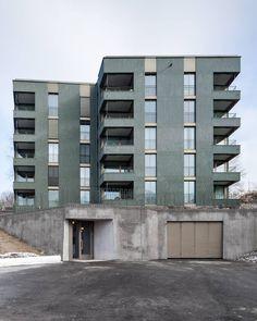 architectureofdoom:  Wil, Switzerland, Michael Meier Marius Hug Architekten, 2011