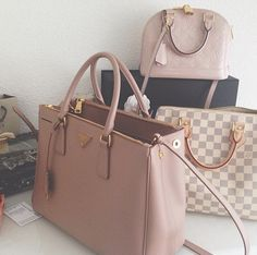 bag, Louis Vuitton, and Prada image
