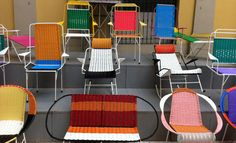 Milan 2012  Marni hosted a selling exhibition of 100 chairs made by Colombian ex-prisoners in its flagship Milan boutique