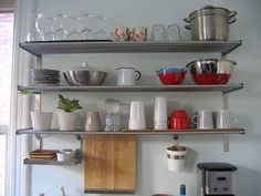 Look!: More Open Kitchen Shelving from Our Readers | Apartment Therapy