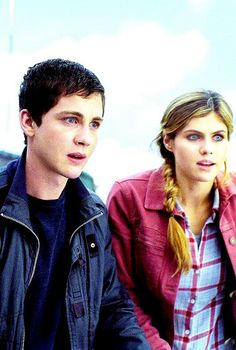 Percabeth. I love them!