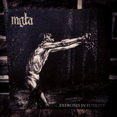 Mgła  Exercises In Futility Northern Heritage/No Solace #mgla #nowspinning #blackmetal #blackmetalvinyl #vinylrecords #recordcollector #vinylcollection #lp #metalvinyl #metalrecords #records by resistancesoundscape