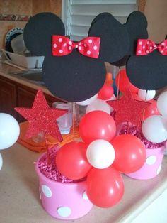 Centrotavola Minnie per bambine