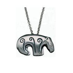 Kalevala Koru / Kalevala Jewelry /  Bear pendant
