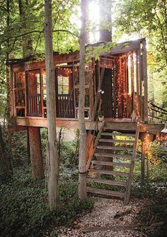 Minimal-Impact Tree House/Tiny House   Relaxshax / The Green Life <3