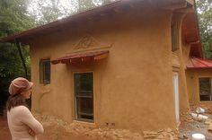 cob building @ Earthaven Ecovillage, Black Mountain, NC