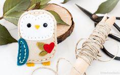 Plush Little Owl