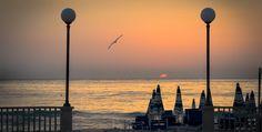 I pescatori di Porto Recanati all'alba