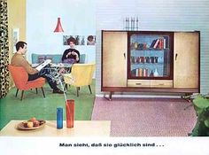 """Germany, 50s - """"Nierentisch"""". Yes, we had tables  with tops formed like kidneys (""""Niere"""" in german). They gave name to a whole design period."""