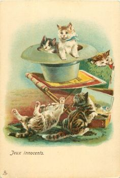 by Louis Wain (unsigned)