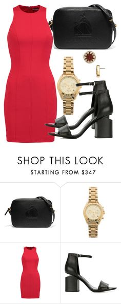 """""""Untitled #4548"""" by beatrizvilar on Polyvore featuring Lanvin, Michael Kors, T By Alexander Wang, Alexander Wang and House of Harlow 1960"""