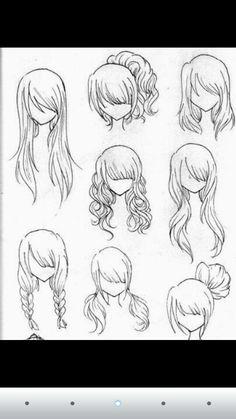 Peinados para dibujos!