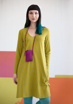 """Fläder"" dress in eco-cotton/spandex – Skirts & dresses – GUDRUN SJÖDÉN – Webshop, mail order and boutiques 