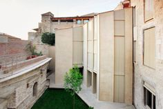 Casa collage by bosch capdeferro arquitectures, girona, northeast spain Architecture Awards, Interior Architecture, Sustainable Architecture, Contemporary Architecture, Berlin Museum, Living In Europe, Brick And Mortar, Bosch, Interior Design Living Room