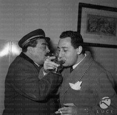 Aldo Fabrizi e Alberto Sordi