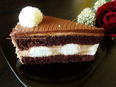 Raspberrybrunette: Nugátová torta s kokosovými guličkami   Veľmi jemn...