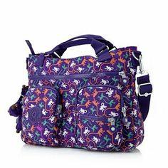 Kipling Adomma Handbag with Removable Shoulder Strap