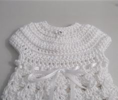 Newborn Going Home Crochet Dress  made to order by crochetmyway