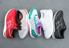With many ACICS classics runners ASICS have been releasing retro favorites like the GEL-Lyte III and GEL-Kayano Trainer. This time Instead they chose to expand the design of the popular silhouettes.TIGER EVO collection comes in. @LaceMeUpNews