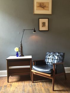 A personal favorite from my Etsy shop https://www.etsy.com/listing/246072221/mid-century-modern-nightstand-end-table