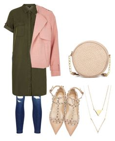 """""""Untitled #329"""" by gabbyriera on Polyvore featuring Neiman Marcus, Valentino, J Brand, Topshop and River Island"""