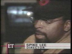 """'96 Director Spike Lee behind the scene of Michael Jackson """"They Don't Care About Us."""""""