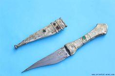 Oriental-Arms: Small Palestinian / Jordanian Bedouin Dagger Shibriya