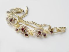 CORO LISNER Style Necklace Vintage Purple by JewelryQuestDesign, $29.99