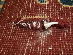 If you notice your heirloom rug begin to fray or snag, resist the urge to take any restorative measures yourself. Cutting rug fringe, or repairing backing flaws yourself can lead to the rug being completely destroyed. And that's not what Grandma wanted!