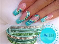 French tip nails are chic, delicate and gorgeous. It is a classic nail art design type, in recent years it has become the trend of nail art design. The history of French tip nails was first used by French models to make them look clean and beautiful. Fancy Nails, Bling Nails, Swag Nails, Cute Nails, Pretty Nails, Beautiful Nail Designs, Cute Nail Designs, Beautiful Nail Art, Gorgeous Nails