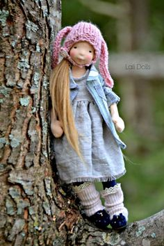 """Dayle, 12"""" doll"""