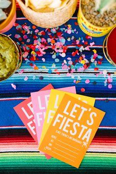 Let's Fiesta Printable Invitations.