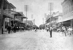 Parade on First Street - Fort Myers 190?