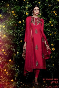 Buy online latest designer party wear salwar suits and salwar kameez. Order this precious embroidered and resham work churidar designer suit for party, wedding and festival. Asian Fashion Indian, Oriental Fashion, Wedding Salwar Kameez, Shalwar Kameez, Kurti, Indian Sarees Online, Churidar Suits, Designer Salwar Suits, Anarkali Dress