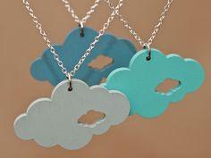 cloud necklace on dawanda