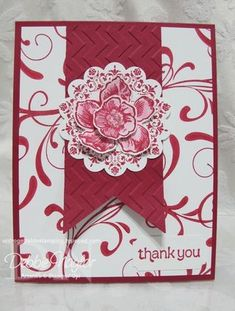 Stampin up Everything Eleanor set in pink