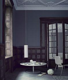 Dark  Moody Interior Inspiration by Shareen Joel Design | Featured on Sharedesign.com