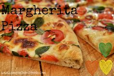 Margherita Pizza - 21 Day Fix Recipes - Clean Eating Recipes Healthy Recipes - Dinner - Lunch  weight loss - vegetarian - 21 Day Fix Meals - www.simplecleanfitness.com