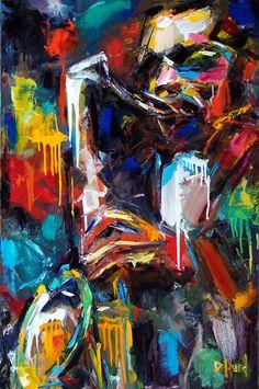 Debra Hurd Portraits - John Coltrane